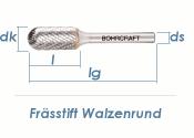 12mm HM-Frässtift Walzenrund (1 Stk.)