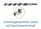 14 x 460mm Lewis Schlangenbohrer (1 Stk.)