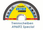 125 x 1mm Trennscheibe f. Stahl / Edelstahl A960TZ...