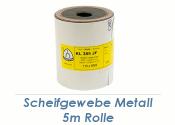K80 Schleifpapierrolle für Metall - 5m (1 Stk.)