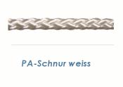 2,5mm PA Schnur Weiß (je 1 lfm)
