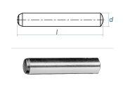 3 x 8mm Zylinderstift DIN 6325 - Tol. m6 (10 Stk.)