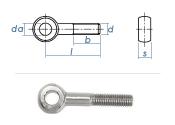M12 x 120mm Augenschrauben Form B Edelstahl A2 DIN444 (1...
