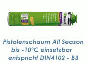 1K Pistolenschaum 750ml  All Season bis -10°C einsetzbar  (1 Stk.)