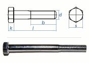 M8 x 50mm Sechskantschrauben DIN931 Teilgewinde Stahl...