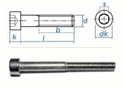 M10 x 100mm Zylinderschraube DIN912 Edelstahl A2  (1 Stk.)