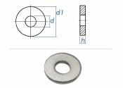 17mm Scheiben für Spannzeuge DIN6340 Stahl verzinkt...