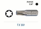 TX25 Bit Bohrcraft 25mm lang (1 Stk.)