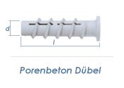 8 x 60mm Porenbeton Dübel (10 Stk.)