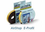 Dichtband Airstop E-Profil weiss 6m (1 Stk.)