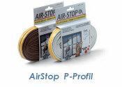Dichtband Airstop P-Profil braun 6m (1 Stk.)