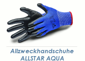 Allzweckhandschuhe Nitril Allstar Aqua schwarz Gr. 11...