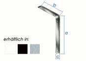 115 x 80mm 3F Konsole stahl matt (1 Stk.)