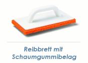 280 x 140mm Reibbrett mit Schaumgummibelag Till Rubber (1...