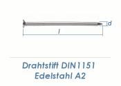 2 x 40mm Drahtstifte Edelstahl A2 (100g = ca. 95Stk.)
