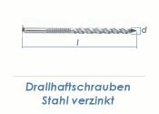 3,5 x 55mm Drallhaftschrauben verzinkt (100g = ca. 32 Stk.)