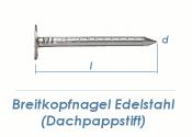 2,8 x 25mm Dachpappstifte Edelstahl A2 (100g = ca. 71Stk.)