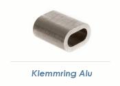 2mm Seil Klemmring Alu (10 Stk.)