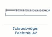 3,4 x 80mm Schraubnägel Edelstahl A2 (10 Stk.)