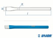 250mm UNIOR Flachmeissel 660/6A (1 Stk.)