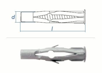 8 x 50mm Multidübel (10 Stk.)