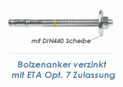 M6 x 60mm Bolzenanker verzinkt - ETA Opt. 7 (1 Stk.)