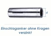 M6 Einschlaganker verzinkt (10 Stk.)