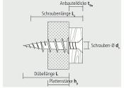 35mm Gipskartondübel faserverstärkt (10 Stk.)