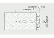 7 x 80mm Isolierplattenschraubdübel IPSD80 (1 Stk.)