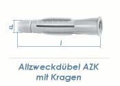 6 x 38mm Allzweckdübel mit Kragen (10 Stk.)