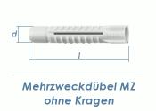 10 x 59mm Mehrzweckdübel ohne Kragen (10 Stk.)