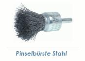 17 x 0,3mm Pinselbürste Einzeldraht Stahl (1 Stk.)