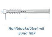 10 x 100mm Lochsteindübel extralang mit Bund (1 Stk.)