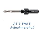 AS11-SW8,5 Aufnahmeschaft für Bi-Metall...