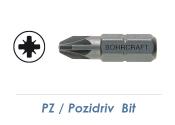 PZ 3 Bit - 25mm lang (1 Stk.)