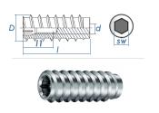 M10 x 60 x AD18,5mm Rampa Muffe Typ SKL Stahl verzinkt (1...