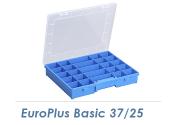 Sortimentskasten EuroPlus Basic 37/25 blau (1 Stk.)