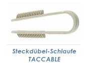 3-13mm Steckdübelschlaufe TACCABLE (10 Stk.)