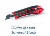 18mm Cutter Messer Samurai Black (1 Stk.)