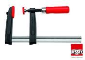 160 x 80mm Bessey Temperguss Schraubzwinge TPN mit Holzgriff (1 Stk.)