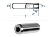 12 x 30mm Zylinderstift mit Innengewinde DIN 7979 - Tol....