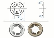 12mm Starlock® Sicherungsscheiben Federstahl (10 Stk.)