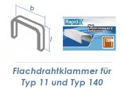 6mm Klammern Typ 11/140  (1 Pkg. zu 2000 Stk.)