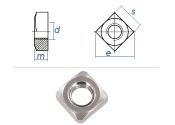 M5 Vierkantmuttern DIN557 Edelstahl A2 (10 Stk.)