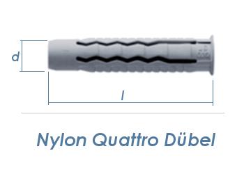 14 x 70mm Nylon Quattro Dübel (1 Stk.)
