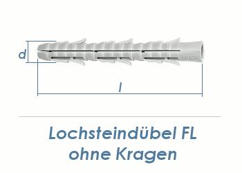 8 x 80mm Nylon Lochstein Dübel (10 Stk.)