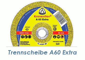 115 x 1mm Trennscheibe f. Metall / Edelstahl A60 Extra (1 Stk.)