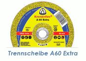 125 x 1mm Trennscheibe f. Metall / Edelstahl A60 Extra (1...