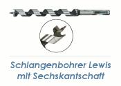 12 x 460mm Lewis Schlangenbohrer (1 Stk.)
