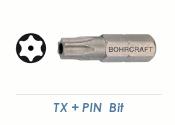 TX30 + PIN  Bit für Sicherheitsschrauben (1 Stk.)